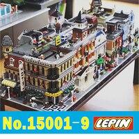 LEPIN CITY Creator 15001 15002 15003 15004 15005 15006 15007 15008 15009 Model City Street Bank