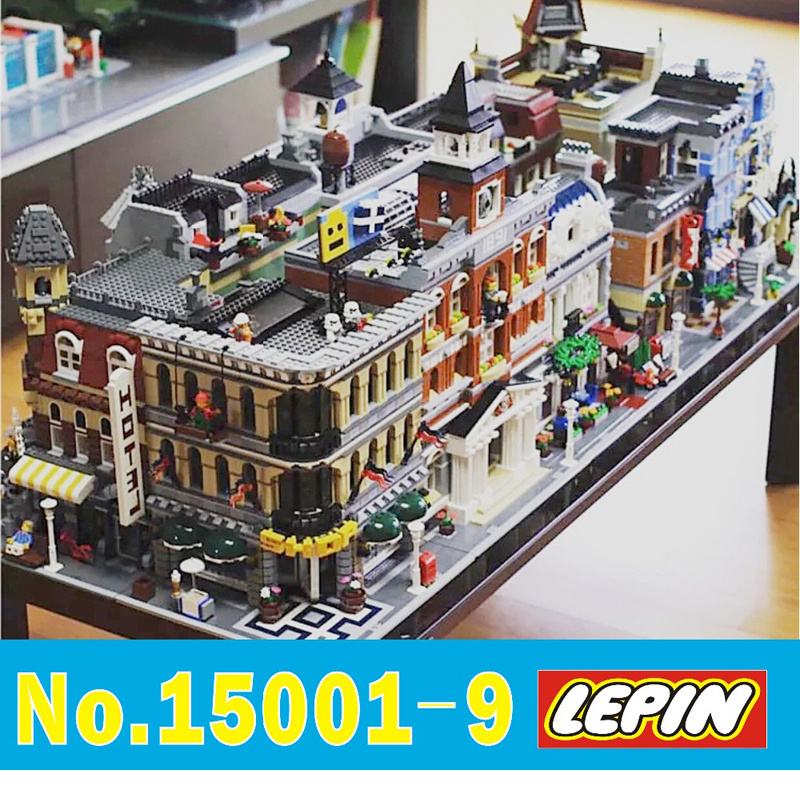 LEPIN STADT Creators 15001 15002 15003 15004 15005 15006 15007 15008 15009 15019 modell