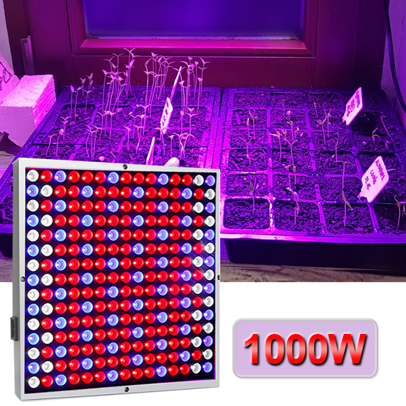 Grow Light 1000W Full Spectrum Lamp For Plants Phyto Lamp Red Blue White High Efficiency Grow Tent Lamps Indoor Garden Plant Led