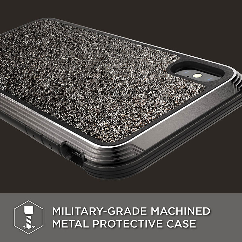Image 3 - X Doria Phone Case For iPhone XR XS Max Defense Lux Military  Grade Drop Tested Case Cover For iPhone XR XS Max Glitter CoverFitted  Cases