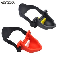 Zerosky silicone Urine open mouth gag head harness gag bdsm bondage sex slave fetish wear erotic adult games sex toys for couple