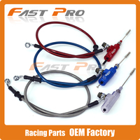 Hydraulic Clutch Master Slave Cylinder Rod System Efficient Transfer Pump With 1200MM Hose For Dirt Street