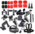 Common Outdoor Sports Kit Accessories for All Gopro Hero4 Silver Black Hero 4 3+ 3 Sj4000 Sj5000 Sj6000 Sports Camera