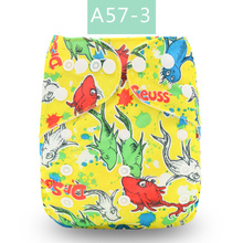 U Pick Elinfant2018 Most Popular Digital Baby Cloth Diapers washable suede cloth fast dry nappy reusable pocket cloth diaper