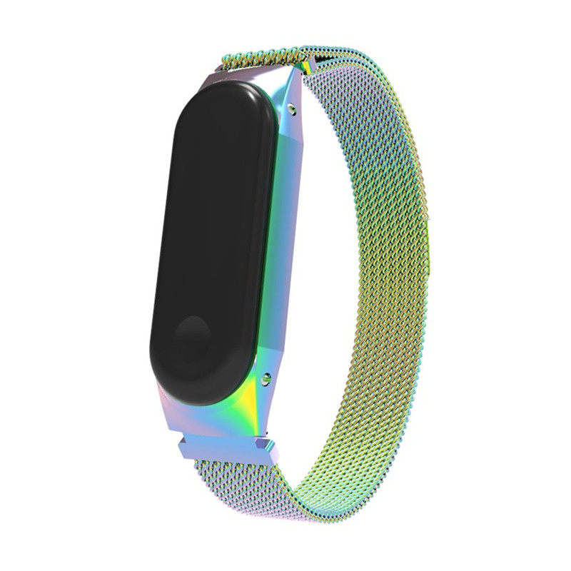 Wristband For Xiaomi Mi Band 3 Strap Stainless Steel Milanese Magnetic Closure Band MiBand 3 Replacement