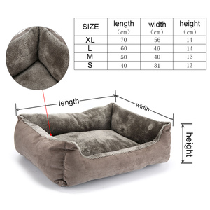 Image 4 - Bed For Dogs Bench For Puppy Mats Sofa Loungers Dog Bed for Small Dogs Pet Bed for Large Dogs Sofa Winter Pet Products XR0001