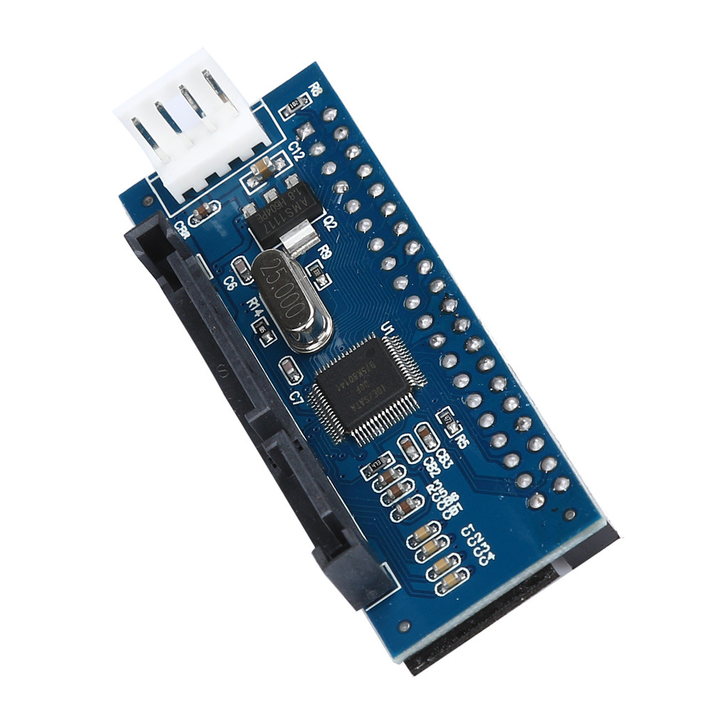 LANDFOX 40-Pin IDE Female To SATA 7+15Pin 22-Pin Male Adapter PATA TO SATA Card