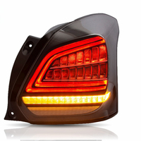 Car Styling for Car Assembly light for Swift LED Taillight 2017 UP for Swift Full LED Tail lamp with moving turn signal
