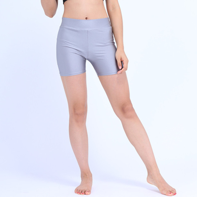 99033c7e63 Speerise Plus Size Adult Spandex Workout Shorts Rave Booty Shorts Mid Waist  Women Dance Shorts Nylon Lycra Dance Shorts