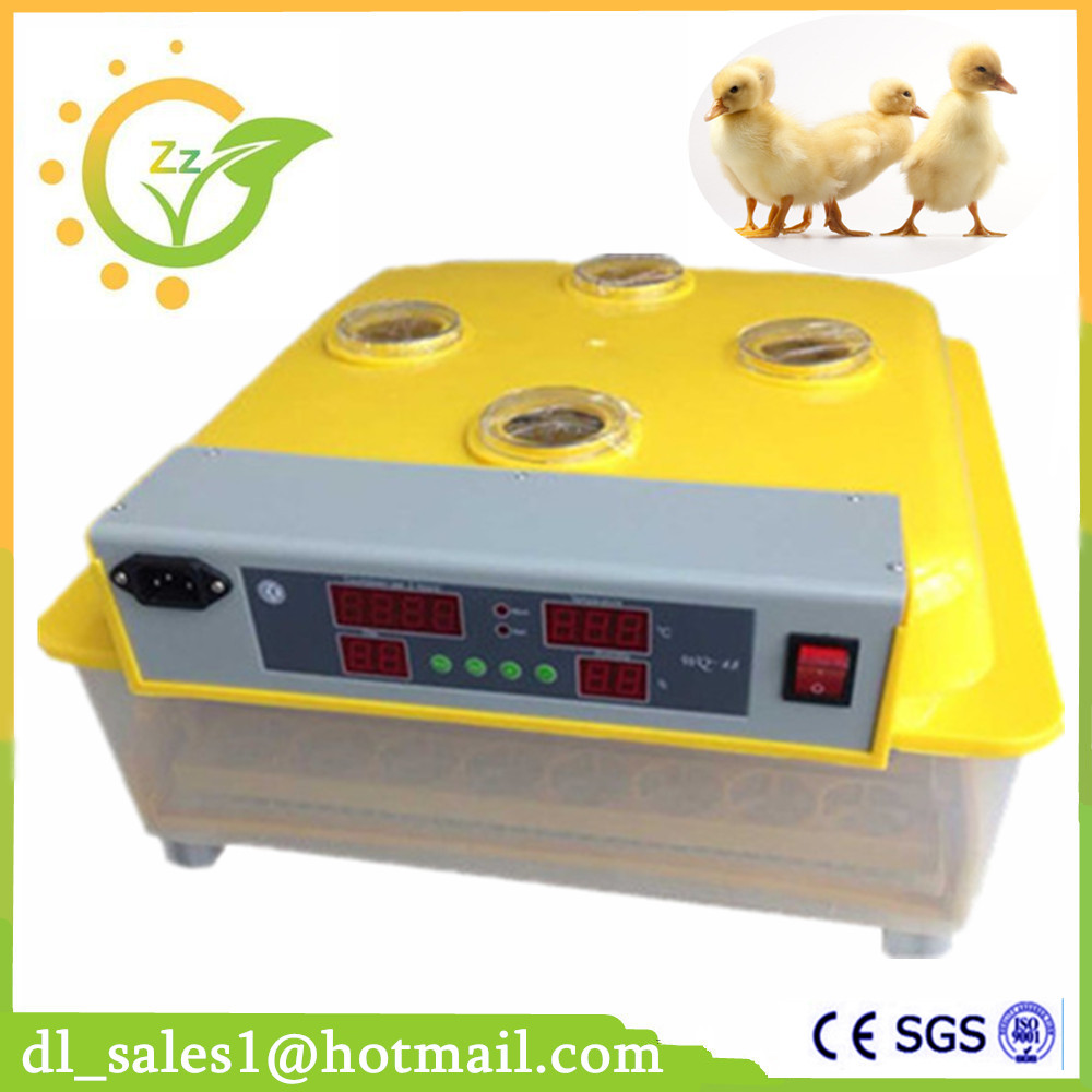 Brand New Egg Incubator Hatcher Automatic Turning 48 Chicken Egg Incubators ZZ-48 For Sale chicken egg incubator hatcher 48 automatic mini parrot egg incubators hatcher hatching machines