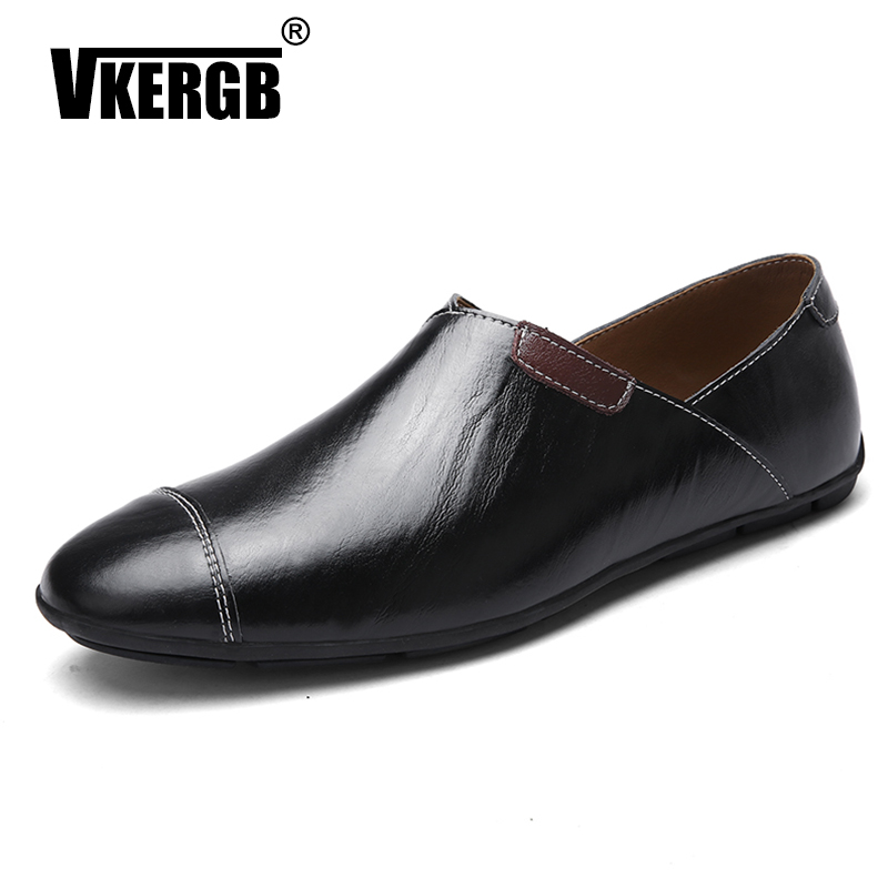 VKERGB Quality Genuine Loafers Shoes Men Breathable  Summer Soft Slip On Loafers Flats Size47 Real Cowhide Leather Trendy ShoesVKERGB Quality Genuine Loafers Shoes Men Breathable  Summer Soft Slip On Loafers Flats Size47 Real Cowhide Leather Trendy Shoes