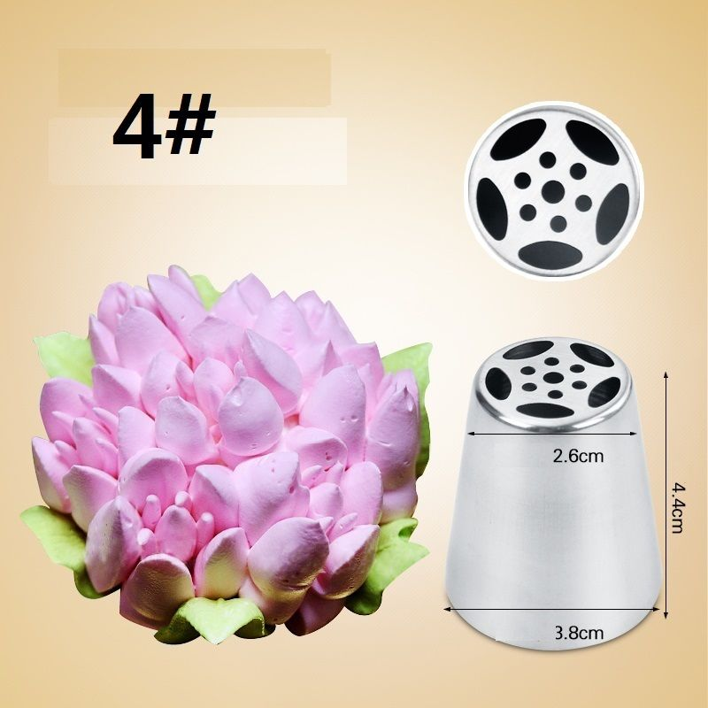 Decorator Tips aliexpress : buy 7pcs stainless steel russian tulip icing