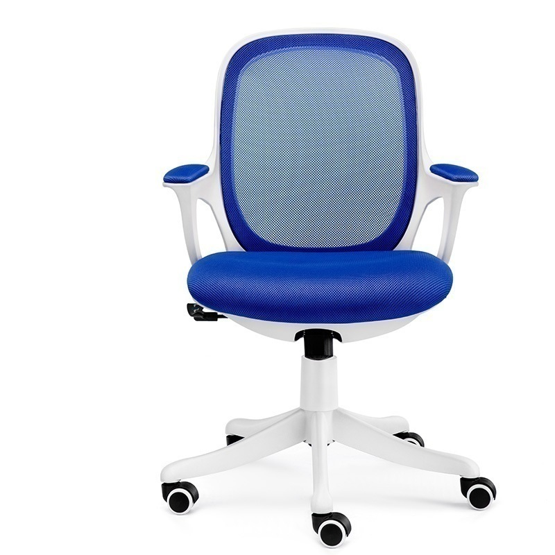 ZJ WB# 3757 Xi lattice home computer for students learning to write the study desk ergonomic office swivel chair 240337 ergonomic chair quality pu wheel household office chair computer chair 3d thick cushion high breathable mesh