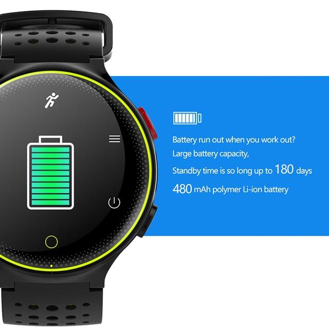 Smartwatch COlMI IP68 IOS e Android Inteligente 5