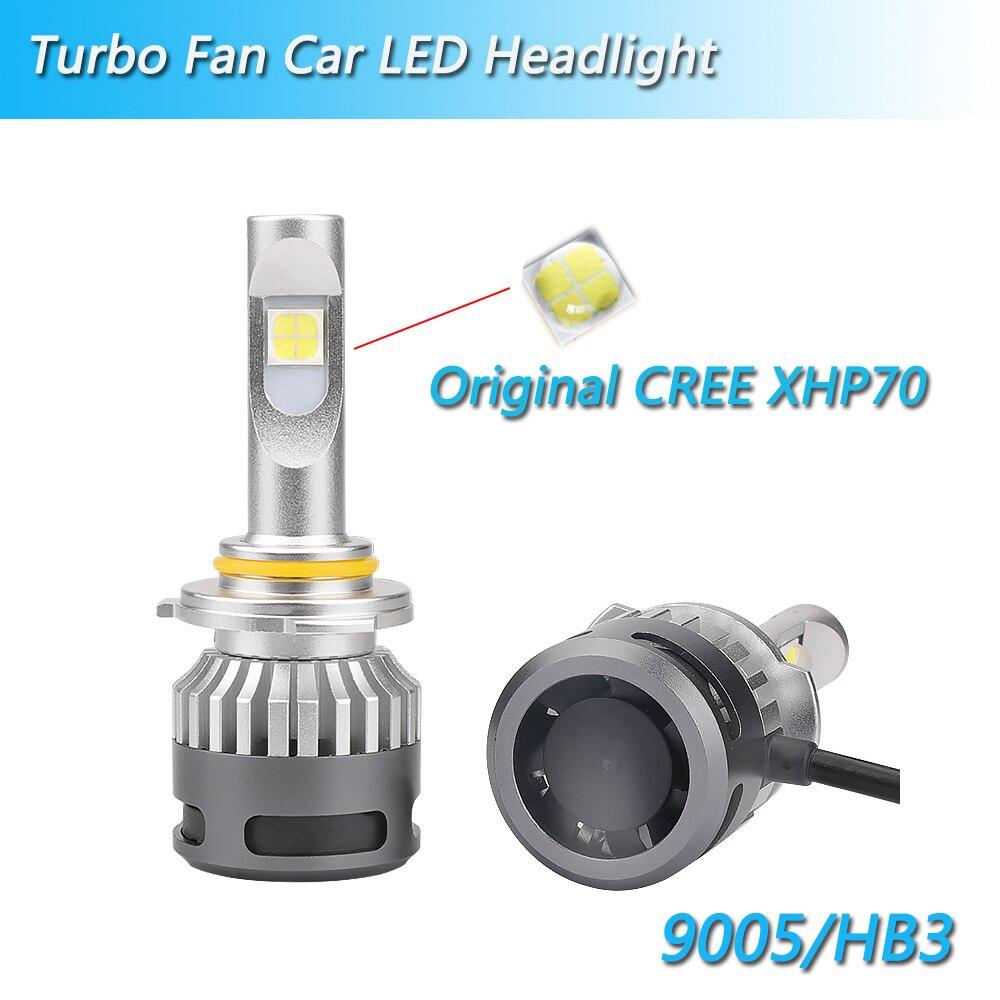 Inlong com samsung csp mini h4 led h7 12000lm h1 h11 lâmpada led h8 h9 9005 hb3 9006 hb4 carro farol lâmpadas 6000 k luzes de nevoeiro 12 v - 2