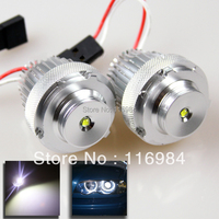 2pcs X NEW DIRECT FIT E60 E61 LCI FACELIFT 10W WHITE CREE LED ANGEL EYE HALO