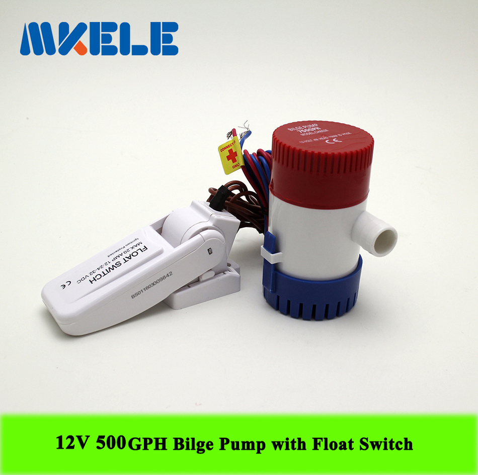 12v Submersible Water Pumpyacht Drainage Fishing Boat Bilge Rule 500 Pump Wiring Diagram Mkbp G500 12 Gph And Switch Are Stand Alone Products Compact Efficient Long Life Motors