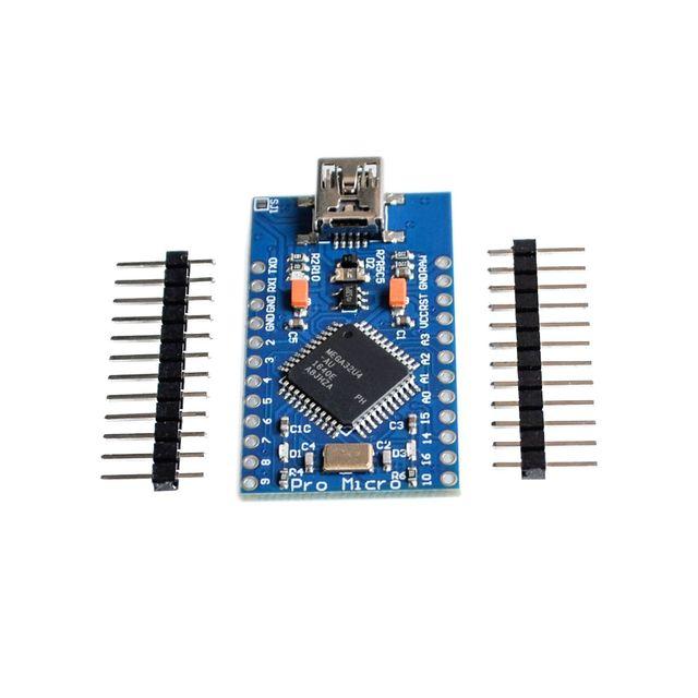 Mini-USB ATmega32U4 Pro Micro 5 В 16 мГц совета модуль для Arduino/Леонардо ATMega 32U4 контроллер Pro-Micro заменить Pro Mini