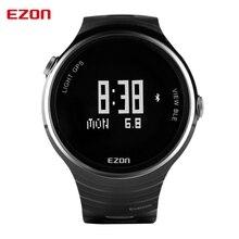 EZON спортивные открытый стол интеллектуальные носимых устройств Bluetooth Часы мужские Черный Цифровой WristwatchesG1A01 таблице бегунов