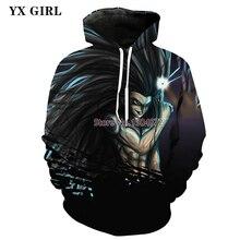 Mens Dragon Ball Z Super Saiyan 3d Printed Sweatshirt Hoodies Men/Women Hip Hop Casual Pullover Hoodie Sweat Homme Dropship