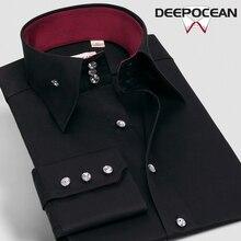 Fashion Men Business Shirt Men Shirts Men Cotton Casual Shirt Hombres camisas camisa de hombre