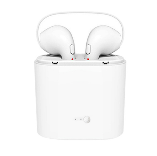 Bluetooth Earphone Headphone Wireless Headset Double Twins Stereo Music Earbuds For Apple ipad iPhone 6 i7 Xiaomi Huawei magnetic attraction bluetooth earphone headset waterproof sports 4.2