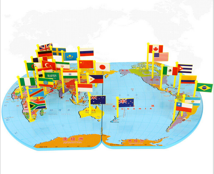 36 countries flags 3d wood toy wooden toy wooden educational toys 36 countries flags 3d wood toy wooden toy wooden educational toys puzzle national flag three dimensional world map in wall stickers from home garden on gumiabroncs Choice Image