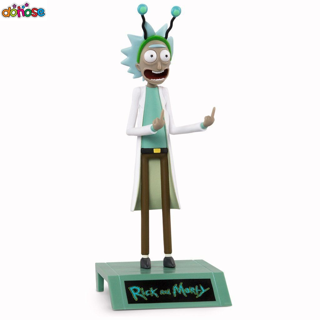 Rick And Morty Rick Sanchez  PVC Action Figure Collection Model Kids Toy Doll