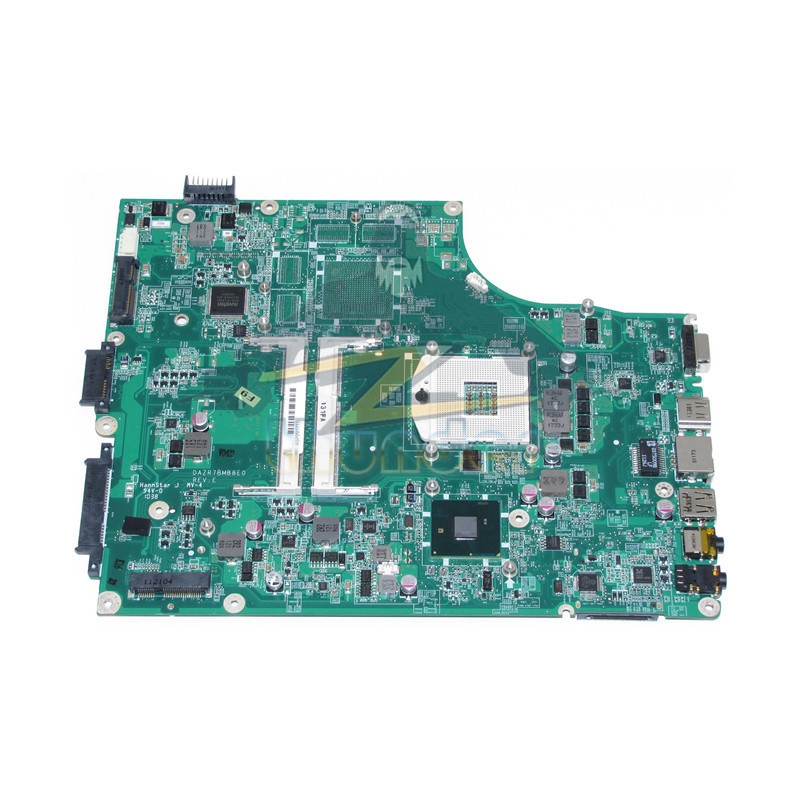 For Acer aspire 5745 5745G laptop motherboard DAZR7BMB8E0 HM55 GMA HD DDR3 Full tested nokotion 646176 001 laptop motherboard for hp cq43 intel hm55 ati hd 6370 ddr3 mainboard full tested