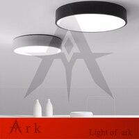 Современный минимализм dia38cm светодиодный потолочный светильник круглый внутренний потолочный светильник креативный индивидуальный кабин...