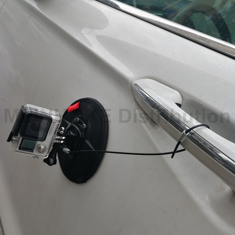 Magnetic Magnet Car Suction Cup Mount for Gopro <font><b>5</b></font> <font><b>4</b></font> <font><b>3</b></font>+ SJCAM SJ4000 Action Camera Boat Sail image