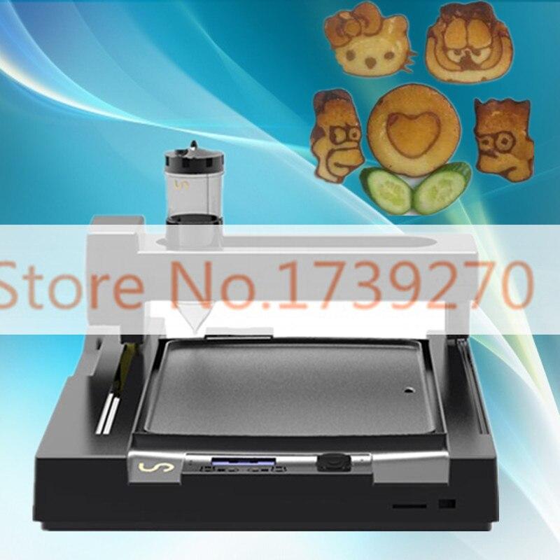USB /SD card/WIFI  3D food printer,CE certification  pancake printer,bread printer, biscuit  printer for paste легко пользоваться школа эз складочном np100 wifi sd кардридер специальный считыватель