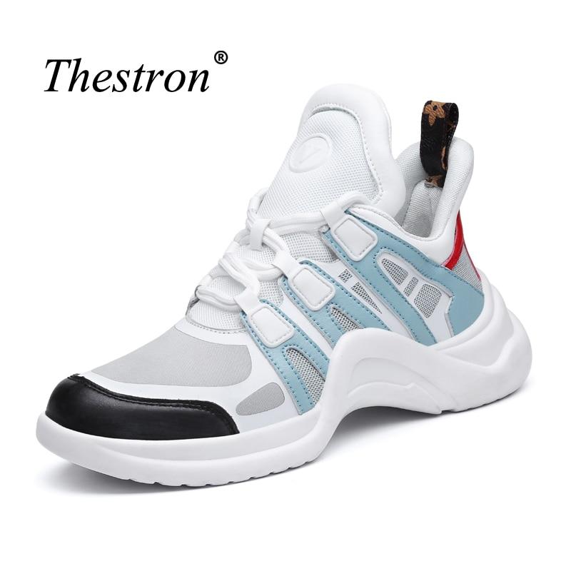 Brand Sport Footwear Female High Top Trail Running Shoes Anti-slip Women Sneakers Lace Up Outdoor Footwear PU Black Sneakers недорго, оригинальная цена