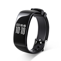 Smartch X16 Charge Smart Bracelet IP67 Waterproof Sports Pedometer Wristband Heart Rate Monitor Fitness Watch For Android iOS