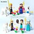 2016 NOVA Venda Bela Princesa Das Meninas Amigos Blocos de Construção de Tijolos brinquedos educativos para Crianças Presentes Brinquedos