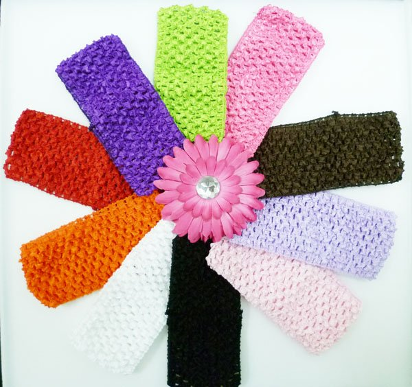 Hot Sale 275 Crochet Headbands Baby Girls Hairband Crochet Tutu