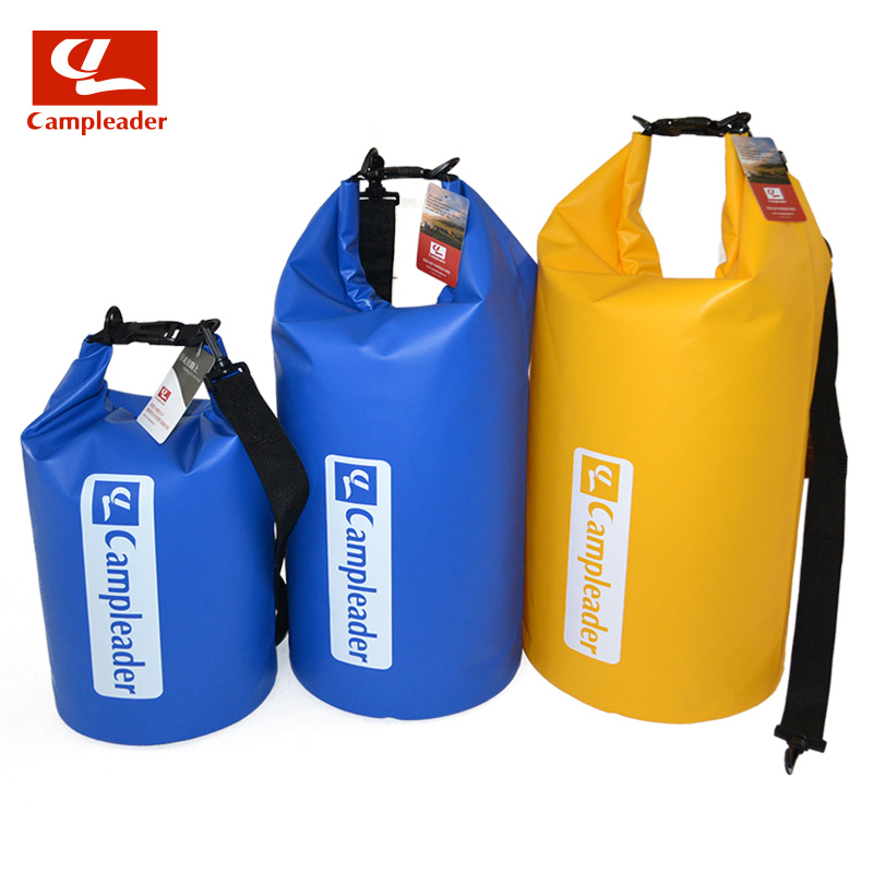 Campleader Portable Outdoor PVC Waterproof Rafting Travel Dry Rafting bag 10-30L Drift Upstream Swimming Bag Ultralight CL001