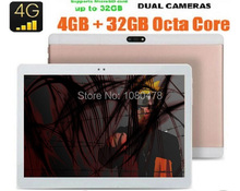 2017 Android 6.0 10 pulgadas Tablet Llamada de Teléfono Octa Core 4G LTE tableta 4 GB 64 GB Dual SIM 8.0MP Wifi Bluetooth 4G LTE Tablets GPS 10