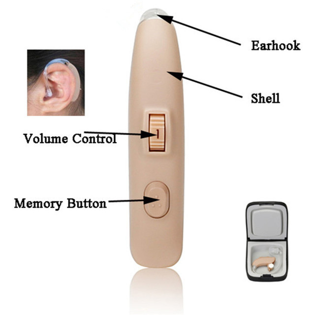 Digital Programing 4 Channels Popular Care Equipment Digital Hearing Amplifier Aid BTE MY-15 batteries for hearing aids