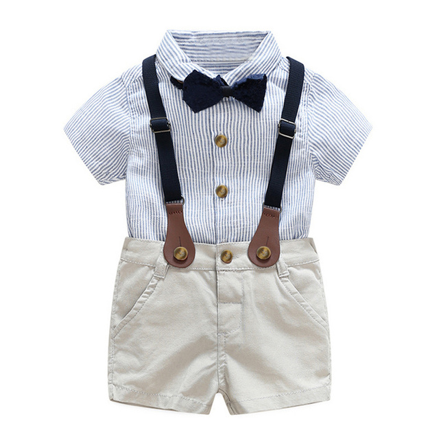 07edeffb4 Big Cow Baby Boy Clothing set Newborn Outfits Spring Gentleman Suit ...