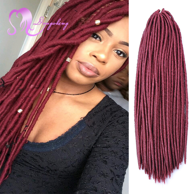 18 Faux Locs Crochet Braid Hair Faux Locs Braiding Hair Black Women