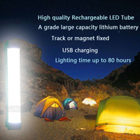 Wireless Multi Function Emergency Lights Led Camping Lamp 7W DC5V LED Tube Use For Car Repair
