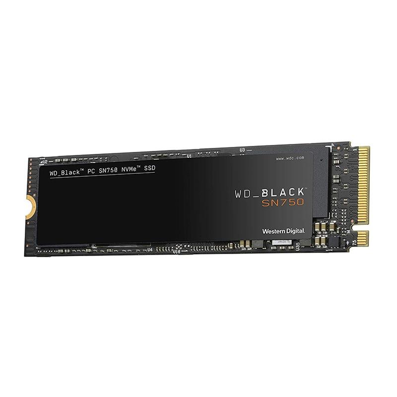 Western Digital WD BLACK SSD SN750 250GB 500GB 1TB NVMe Internal Gaming SSD Gen3 PCIe M