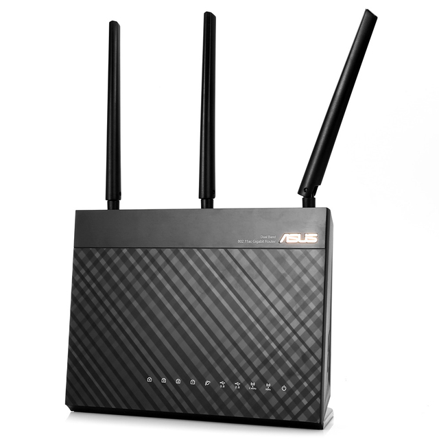 US $133 87 15% OFF ASUS RT AC68U Wireless Router 2 4GHz / 5GHz Network WiFi  Repeater 1300Mbps/600Mbps USB 3 0/2 0 MU MIMO AiMesh Adaptive QoS-in 3G/4G