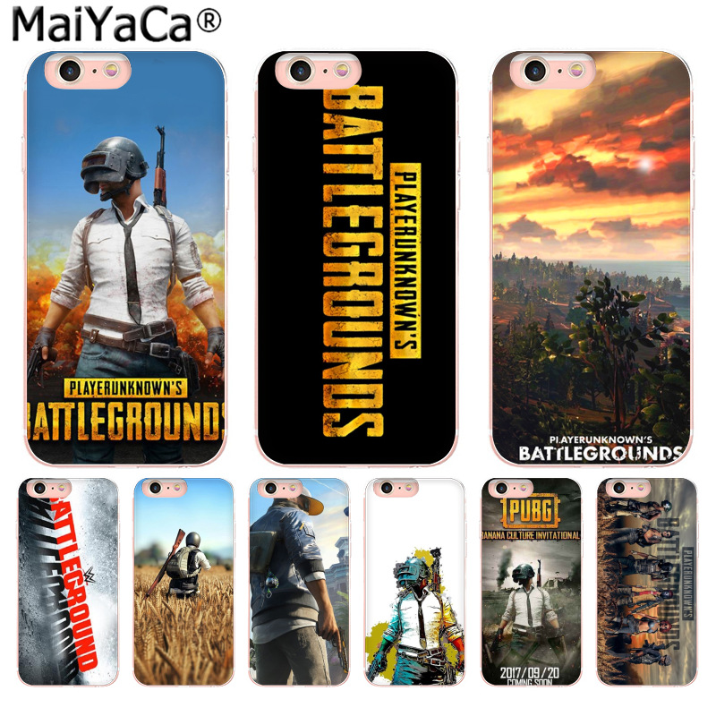 MaiYaCa BATTLEGROUNDS Jedi survival game High Quality phone Accessories cover for iPhone 8 7 6 6S Plus X 10 5 5S SE 5C 4 4S
