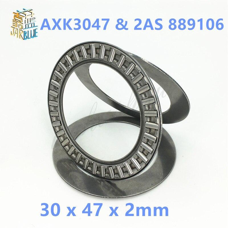 10pcs NEW AXK3047 Thrust Needle Roller Bearing Washers 30x47x2mm