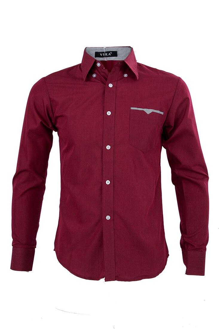 Aliexpress.com  Comprar SAF Lujo de manga larga casual slim fit elegante Camisas  de traje 5 color de stylish dress shirts fiable proveedores en Life Joy 35b5ec74182