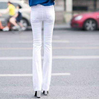 Moda Nueva El Plus 2018 Y Las Primavera 79170 Flare De Mujeres Mujer Niñas Algodón Otoño Marca Ropa Pantalones Casual Tamaño w0ttBdq