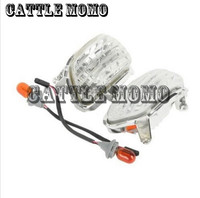 Motorcycle Front Turn Signal Lights Lens Shell Cover For Goldwing GL1800 2001-2014