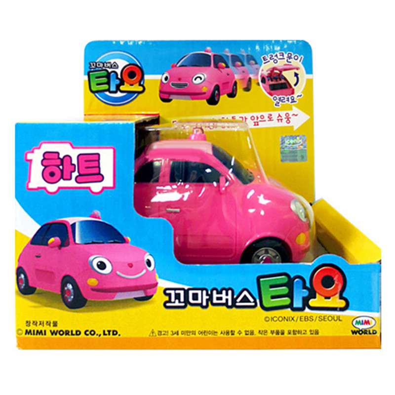 tayo tayo bus oyuncak miniature pink princess sedan coche model car tayo the little bus kids brinquedos menino girl gift